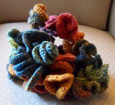 Hyperbolic crochet sculpture by Susan Lombardo