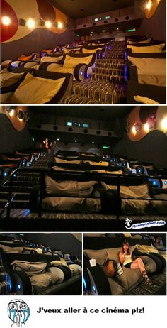 Wish our movie theatre was like this!