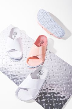 Kalmikoff Kalmikoff Campbell Menorca Sandals in White Sock Shoes, Cute Shoes, Me Too Shoes, Shoe Boots, Shoes Flats Sandals, Shoes Sneakers, Fashion Still Life, Clutch, Couture
