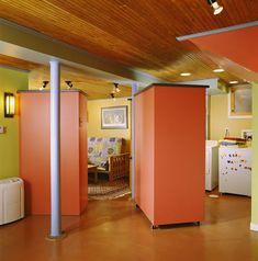 Best to Worst: Grading 13 Basement Flooring Ideas: Basement Flooring Ideas: Concrete