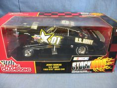 Racing Champions Stock Rods 1:18 Scale Jerry Nadeau U.S Army 1969 GTO Drag Car Replica