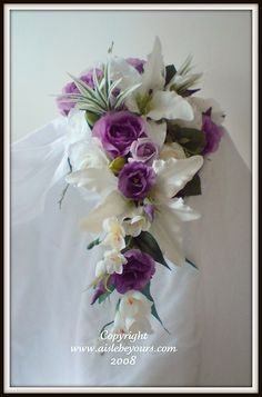 purple wedding bouquets | Purple Wedding Flowers - wedding planning discussion forums