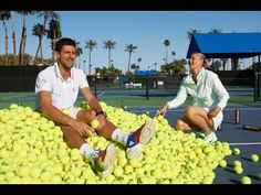 Most Hilarious and Greatest Tennis Player, Novak Djokovic