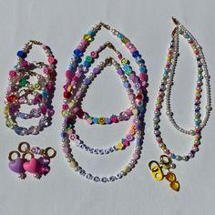 Funky Jewelry, Trendy Jewelry, Cute Jewelry, Fashion Jewelry, Bead Jewellery, Pearl Jewelry, Beaded Jewelry, Beaded Rings, Diy Crafts Jewelry