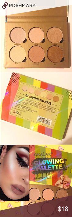 ❤️BNIB HIGHLIGHTING PALETTE❤️ Band New Okalan Glowing Palette! ❤️ Sephora Makeup Luminizer