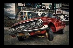 Hip hop car