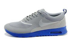 huge discount bd66c 16148 Buy Men Nike Grey Royal Blue Air Max Thea Mid Shoes Greate from Reliable  Men Nike Grey Royal Blue Air Max Thea Mid Shoes Greate suppliers.