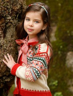 ALALOSHA: VOGUE ENFANTS: Oscar de la Renta FW2013/2014 : Girls lookbook
