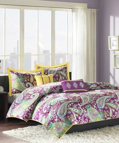 Look at this Melissa Comforter Set on #zulily today!