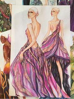 Fashion Illustration by Paul Keng