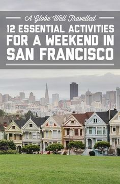 12 essential activities for a weekend in San Francisco San Fran never gets old, no matter how many times you visit. If you 12 essential activities for a weekend in San Francisco / A Globe Well Travelled San Fransisco, Pacific Coast Highway, San Diego, Oh The Places You'll Go, Places To Travel, Weekend In San Francisco, San Francisco Girls Trip, Mission District San Francisco, San Francisco Travel Guide
