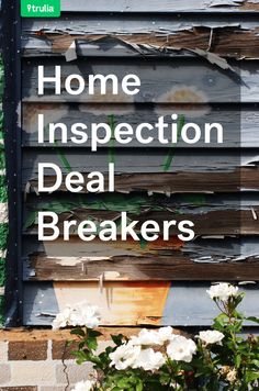 Deal Breakers: 6 Inspection Issues That Kill The Deal
