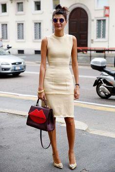 Sunday's Inspiration: Milan Fashion Week Street Style (BeSugar&Spice)