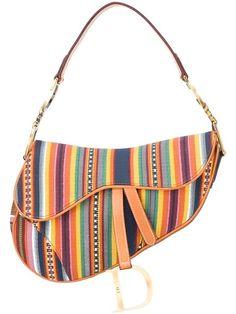 06d5df75 Christian Dior Vintage saddle-shaped Shoulder Bag - Farfetch