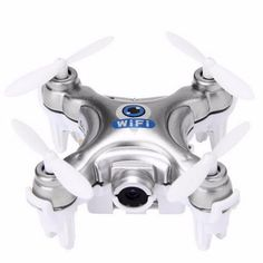 The Cheerson Remote Control Quadrocopter Nano Drone with Original Box, Batteries, Operating Instructions, Remote Controller, Camera and USB Cable from Hobby Snobby at $37.99. Buy it now and save $11 ...