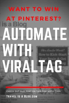 If you want to grow your audience using Pinterest, the key to a great campaign starts here, with ViralTag. Don't waste another minute trying to find relevant content. ViralTag makes it easy. Social Media Scheduling Tools, Wasting Time, Campaign, Key, Content, Blog, Travel, Viajes, Unique Key