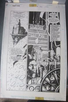 Original Comic Art NIGHTFORCE Issue 6 Page 1 Art by Shawn Martinbrough GREAT1997