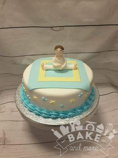 Judo communion cake