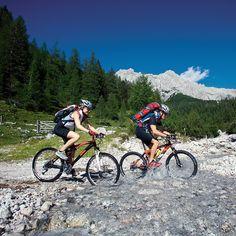 Explore Austria! This was taken in Styria #iAustria #Dachstein #biking #water #summer #mountains