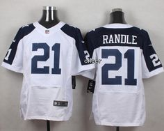 Men's NFL Dallas Cowboys #21 Randle White elite jersey 20.99$ www.cheapjerseyswholesale.ru