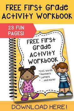 First Grade Activity Workbook