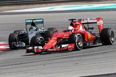 Vettel: Mercedes still favourites. #f1 #formula1 #vettel #mercedes
