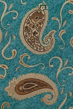Medici Sapphire swag valances curtain drapes