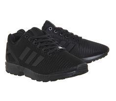quality design 012ae 99218 Adidas Zx Flux Black Dark Grey - Unisex Sports