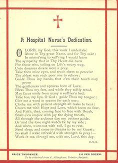 Hospital Nurses dedication