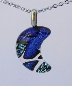 Hey, I found this really awesome Etsy listing at https://www.etsy.com/listing/229669061/crescent-moon-dichroic-glass-pendant