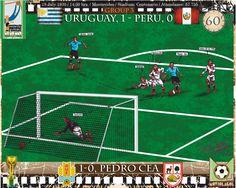 Fifa World Cup URUGUAY 1930 - URUGUAY, 1 - PERU, 0 - Pedro Cea ,1-0 ,min.60'