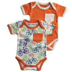 Organic Cotton Bodysuits - Bicycle