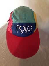 1992 Polo Vintage Ralph Lauren Easter Hat Pwing P-Wing 02afdfdad85