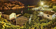 Quidi Vidi Village at Night, St. John's, NL <3