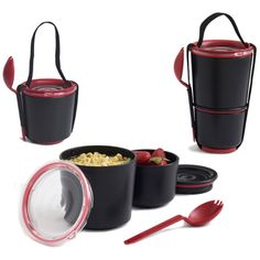 I need to look into these for Tim to use for taking his lunch to work. They look much better than the Tupperware we've been using.