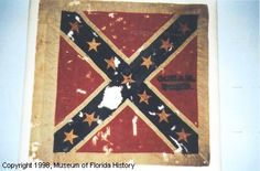 Battle Flag of the 6th Florida Battalion, which later became the 9TH REGIMENT Florida Volunteer Infantry Not captured; flag was retired from service with the 9th Florida Regiment and sent to the governor of Florida on July 4, 1864. The 6th Florida Battalion fought at the Battle of Olustee (Ocean Pond) on February 20, 1864. The unit was later ordered to Virginia, where it was reorganized as the 9th Florida Regiment and fought in the Battle of Cold Harbor.