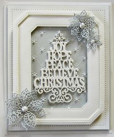 PartiCraft (Participate In Craft): Christmas Double Days - October 2015 Christmas Cards 2017, Create Christmas Cards, Beautiful Christmas Cards, Christmas Makes, Xmas Cards, Holiday Cards, Christmas 2016, Merry Christmas, Card Making Inspiration