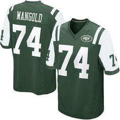 QQQKOIW Men's Adult Football Jerseys New York Jets #74Nick Mangold Green (1) Sports fans jersey -- Awesome products selected by Anna Churchill