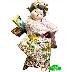 JAPANESE HAKATA DOLLS | Hakata no Musume, Artist: Kuniaki © Shogetudo