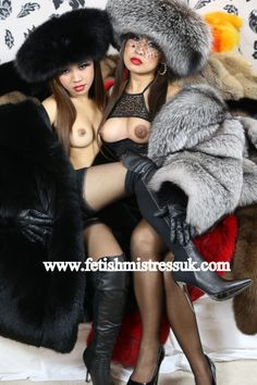 Girlfriends in Fur's...  www.fetishmistressuk.com
