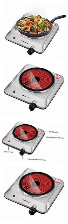 Burners and Hot Plates 177751: Bgi 1000-1500 Watts Trendy Portable Ceramic Infrared Cooktop Burner New -> BUY IT NOW ONLY: $34.74 on eBay!