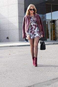 Wear Your Romper Into Fall - Every Once in A Style