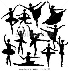ballet silhouette - Google Search