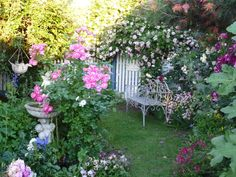 Beautiful and peaceful garden.... <3  via https://www.facebook.com/thecompletegarden
