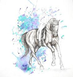 MZ - horse art: Galop I