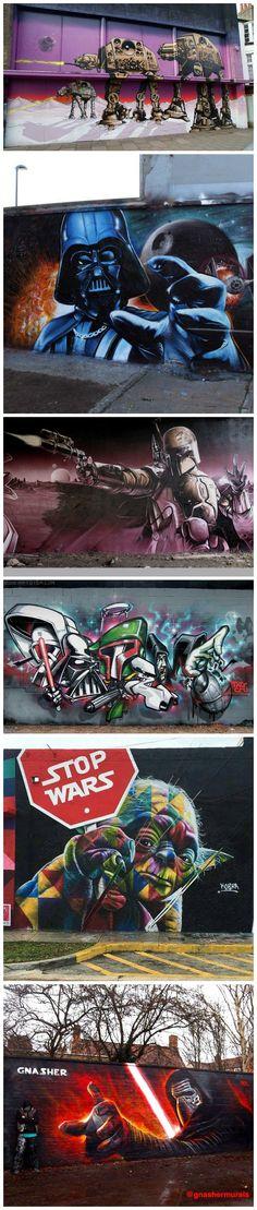 Star Wars Graffiti & Street Art From Around The World