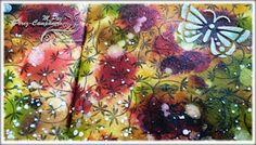 Manos y Mente Art Journaling y mixed media: Art Journal: de los borrones surgió la mariposa