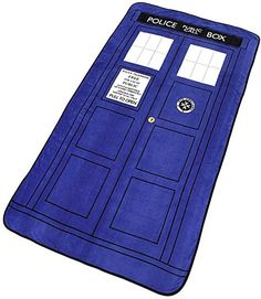 Doctor Who Blanket  #doctorwho #geek #thedoctor  (Sponsored)