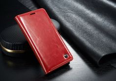 Red S6 Edge Samsung Galaxy Stylish Leather Wallet Case at mobilephonecases.... #MobilePhoneCases #CellPhoneCases #iPhoneCases #iPadCases #SamsungGalaxyCases #S6Edge