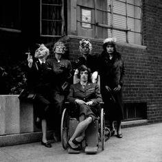 Jerry Schatzberg -   Rolling Stones in Drag, NY 1966